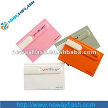 business card usb flash memory for corporate gift