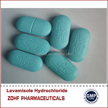 Levamisole hcl tablet 150mg 300mg for veterinary use