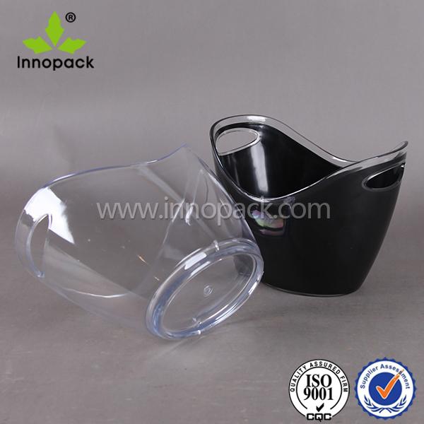 8l bi re vin acrylique champagne seau glace en plastique fabricants seaux refroidisseurs. Black Bedroom Furniture Sets. Home Design Ideas
