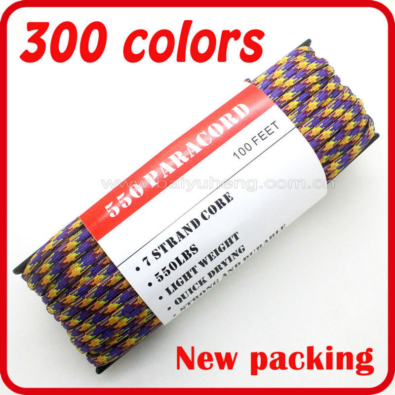 wholesale nylon rope line specification colored craft rope