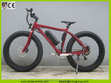 LOHAS 26*4 fat tyre 250w electric bike fat e bike big tyre bike (2014 Chinese exhibitor INTERMOT Cologne Fair)