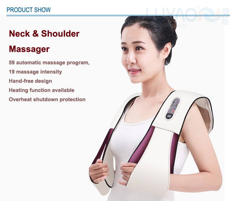 Electric tapping relax neck and shoulder massage machine massager LY-803Q
