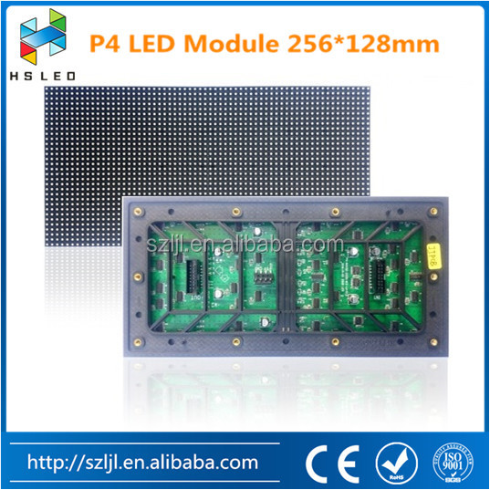 High Density HD Outdoor P4 P5 P6 LED Display Screen Module