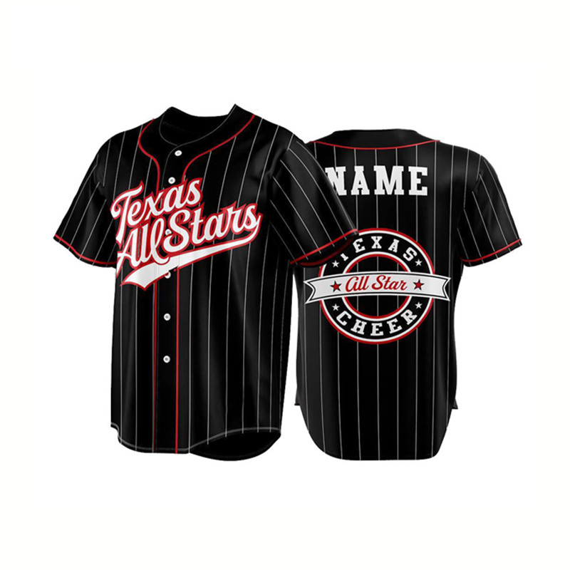 OEM Custom Sublimatie Baseball Uniform Shirts Blue Jays Team Baseball Jersey