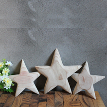 home decoration wooden star shape for tray