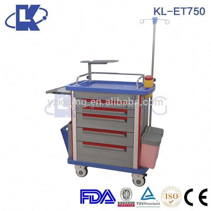 bed tables trolley medical trolley cart for treatment whisht casters