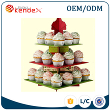 noval design wedding cupcake stands cupcake display rack for retail sale and promotion