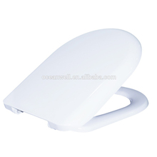 Oceanwell urea D shape WC toilet seat cover with soft or normal close function