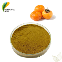 Diospyros kaki fruit supplement bulk persimmon leaf extract powder 10:1