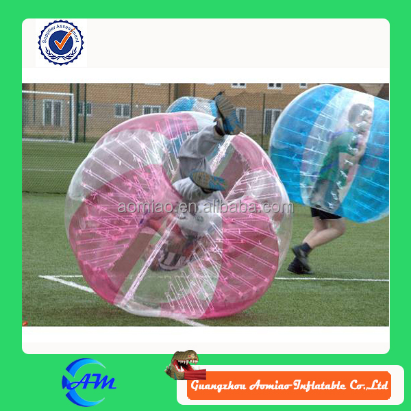 Rose color and blue color 1.5 m TPU football body paint, rc flying soccer ball, cheap soccer balls