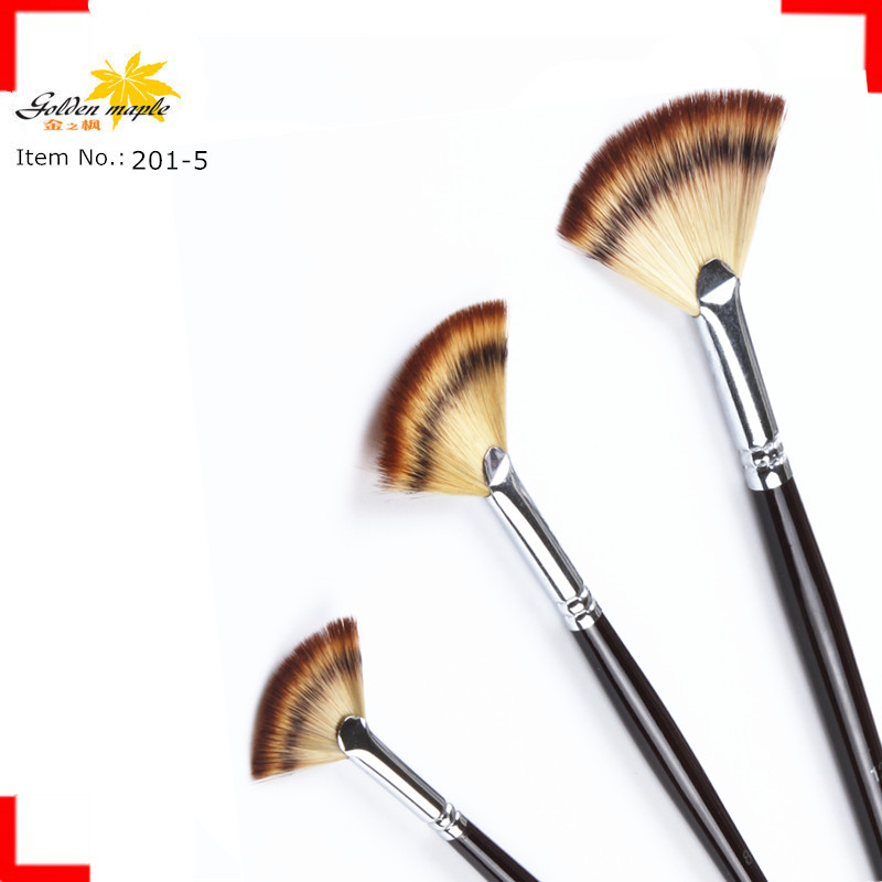 Newest Professional Synthetic Nylon Craft Diy High Quality Paint Brush set for artist 201-5