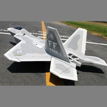 F-22 jet powered foam remote control electric radio controlled plane jet