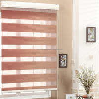 China supplier tubular motor control pvc outdoor roller blinds