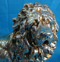 Electroplating process hot sale polyresin Tibetan Mastiff