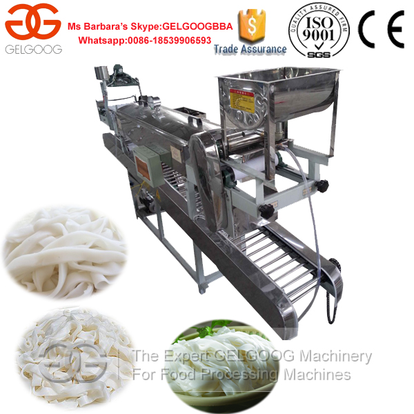 2016 New Style Pho Noodle Making Machine/Pho Making Machine/Standard Food Grade Ho Fun Noodle Machine