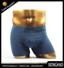 wholesale solid color funny boxer shorts for men with simple style and excellent quality