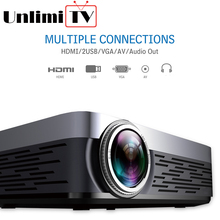 best 1920*1080p projector LCD big home theater projector with bluetooth