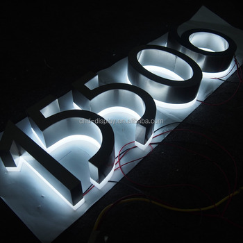 hotel room number signs LED hotel door signs Plate