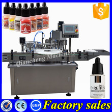 PLC controlled small bottle filling machine,e-liquid filling