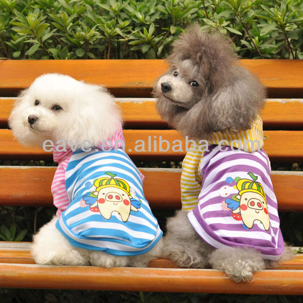 E1013 Dog Feet Vest Spring and Summer Dog Clothes Wholesale Clothing Dog Beautiful Coat with Hat