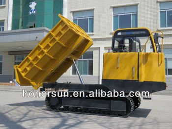 5 ton crawler transporter with steel or rubber track