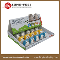 wholesale advertising corrugated carton pdq counter display