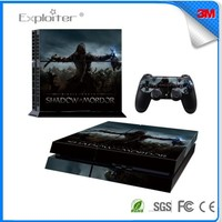 Top quality factory price decal sticker for ps4 skin for playstation 4