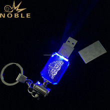 2G 4G 8G 16G 32G Islamic Wedding Gifts LED Crystal USB Flash Drives