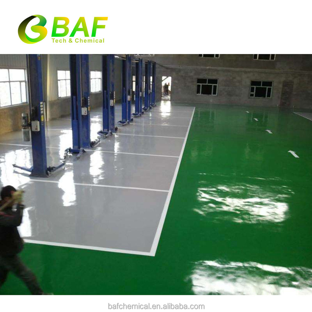 Epoxy resin flooring for basketball court floor with scratch resistant floor coating DJ128