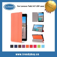 PU protective Leather Tablet Case with Stand Function Flip Cover for Lenovo TAB 2 A7-20F (7.0 inch)