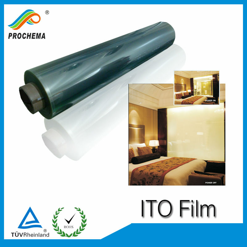 Factory Price Clear Conductive ITO PET Film For Optical Shutters