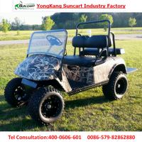 2016 lastest golf cart,electric 4 seater with rear seater can be folded