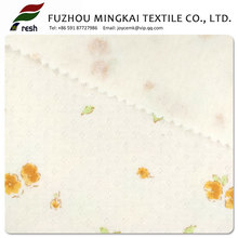 China factory Professional 100%organic cotton yarn dye single jersey soft fabric