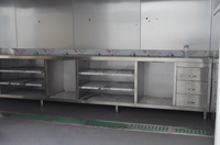 Made in China mobile house prefabricated kitchen