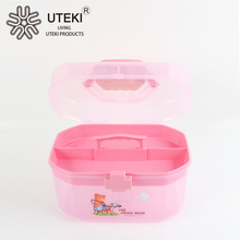 Factory directly sale plastic storage box with octagonal shape