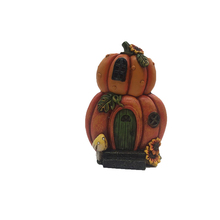 Miniature Pumpkin Resin House For Sale