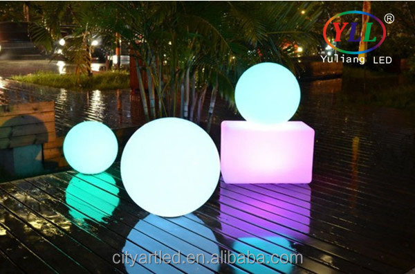 Fashionable Colour Changing LED Ball Lights lighting furniture battery operated lighted color changing christmas balls