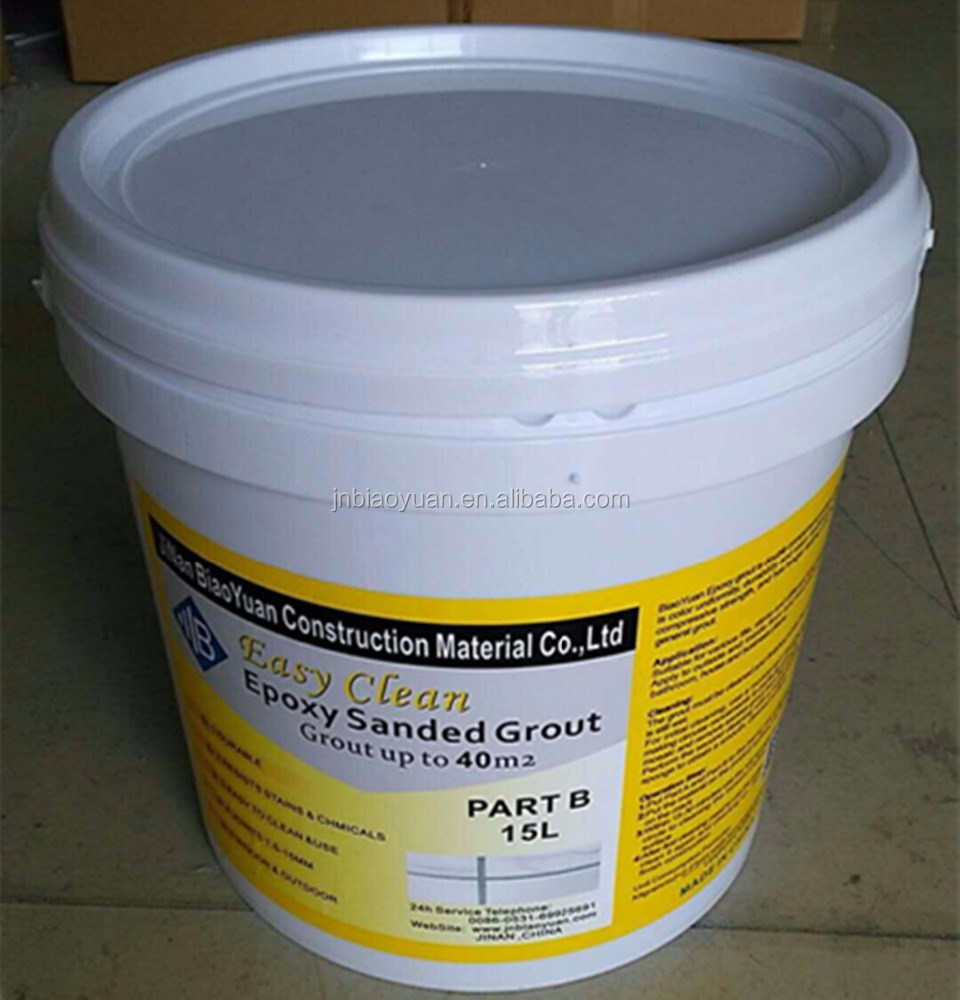 Coloured Flexible Epoxy Tile Grout Sealant , Environmental Epoxy Based Grout