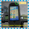 Merry Christmas bike Phone holder waterproof case for Iphone 5 5s pc rubber coating waterproof bike phone case