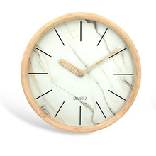 Latest Luxury Ajanta Models Marble Wall Clock with Framed