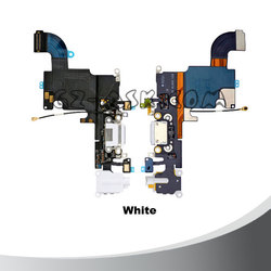 mobile phone charging port flex for iphone 6s dock connector charger flex cable White color