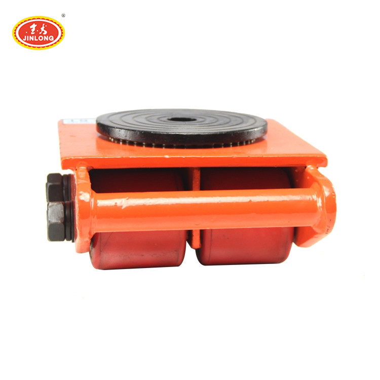custom 6T 8T 12T 15T 18T 6 12 ton Machinery Roller Skids light weight transport Cargo Trolley