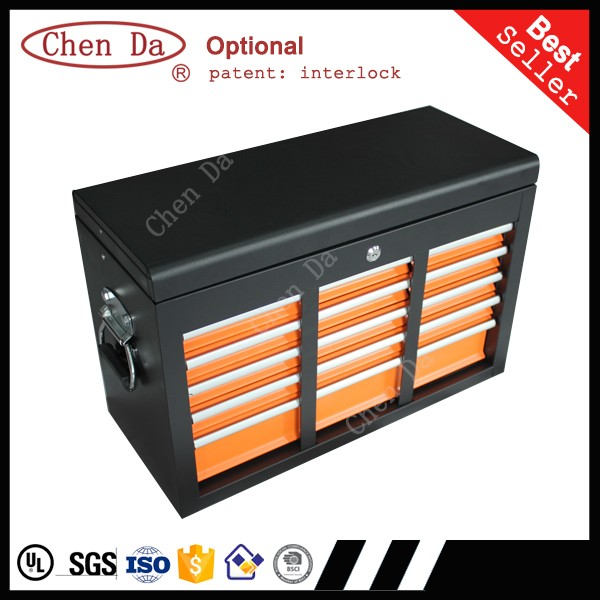 2016 high quality 16 drawers tool cabinet with tool chest