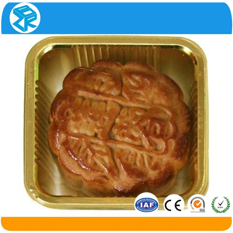 Factory price convenient transport two layers plastic mooncake box