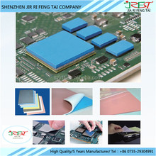 Good Flexibility CPU Thermal Conductive Pads For LED Lighting / Computer / Household Appliances