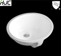 "HJC-2308 15"" inch oval shape wash basin"