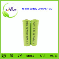 1.2V 900mah aaa size ni-mh rechargeable battery