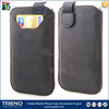 Cellular phone pouch pu wallet case for iphone 6plus
