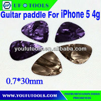 Pick chip.plastic pry tool For iPhone 5S 5 4G,high-end paddles celluloid guitar picks