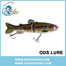 "8"" lifelike with soft tail and fins pike lures northern pike fishing lure"
